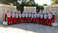 Members of  Stanford Men's Swim Team Photo taken on Wednesday, September 25, 2013.