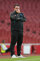 Everton U23 Manager, David Unsworth during Arsenal Under-23 vs Everton Under-23, Premier League 2 Football at the Emirates Stadium on 23rd August 2019