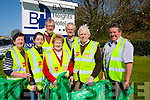 Cleaners<br /> ------------<br /> Last Saturday Co Kerry had a clean your area day around the county,Ballyroe/Clogherbrien community members gathered at the local hotel to do their bit,present were L-R Margaret Murphy,Clodagh Begley,Donal McCarthy,Mai Shanahan,John King,Jim Shanahan and Jackie Power