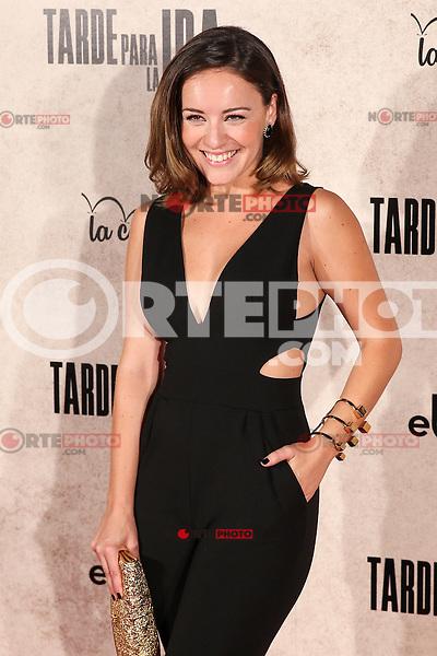"Claudia Molina during the premiere of the film ""Tarde para la Ira"" in Madrid. September 08, 2016. (ALTERPHOTOS/Rodrigo Jimenez) /NORTEPHOTO.COM"