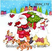 Kate, CHRISTMAS SANTA, SNOWMAN, WEIHNACHTSMÄNNER, SCHNEEMÄNNER, PAPÁ NOEL, MUÑECOS DE NIEVE, paintings+++++Christmas page 56,GBKM172,#x#