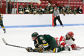 Emily Walsh (Vermont - 11), Jill Cardella (BU - 22) - The Boston University Terriers tied the visiting University of Vermont Catamounts 2-2 on Saturday, November 13, 2010, at Walter Brown Arena in Boston, Massachusetts.