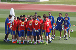 Spain's team during training session. March 21,2017.(ALTERPHOTOS/Acero)