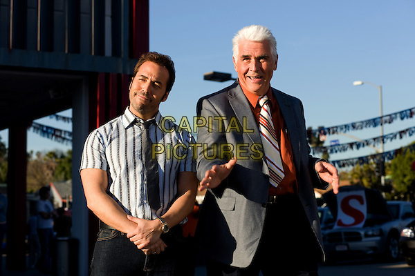 JEREMY PIVEN & JAMES BROLIN.in The Goods: Live Hard, Sell Hard.*Filmstill - Editorial Use Only*.CAP/FB.Supplied by Capital Pictures.