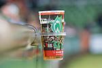 11.02.2018, Weserstadion, Bremen, GER, 1.FBL, SV Werder Bremen vs VfL Wolfsburg<br /> <br /> im Bild<br /> Getr&auml;nkebecher / Bierbecher mit Halterung, <br /> <br /> Foto &copy; nordphoto / Ewert