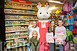 Elise Carey McGibney, kellen McGibney Casey Ryall and Caitlyn Moore with Freya at the Caballs Toystore at the Sylvanian Family fun morning on Saturday