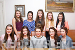 Niamh O'Sullivan, Currans,Castleisland (seated centre) celebrated her 16th birthday in Bella Bia restaurant, Tralee, Saturday evening last. Seated l-r: Nora Murphy, Laura Skehan, Niamh O'Sullivan, Rebecca Lyons and Jodie Glennon. Back l-r: Mellisa O'Connell, Ellen Fleming, Laura Geaney, Siobhan Kelly and Amy King.