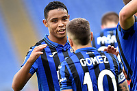 Alejandro Papu Gomez of Atalanta BC celebrates after scoring the goal of 0-3 with Luis Muriel <br /> Roma 19-10-2019 Stadio Olimpico <br /> Football Serie A 2019/2020 <br /> SS Lazio - Atalanta<br /> Foto Andrea Staccioli / Insidefoto