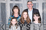 "The Cube: Attending ""The Cube ""  game show organized by Listowel Ladies GAA at the Listowel Arms Hotel on Saturday night last were Orla, Aidan, Hannah, Nora & Greta Keane, Meen, Listowel."