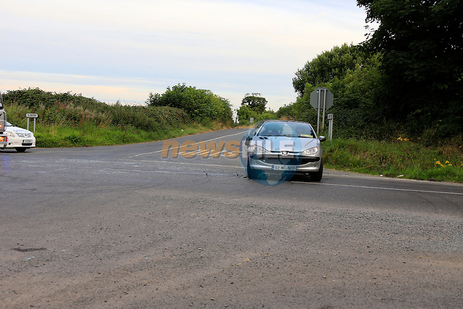 the scene of a two vehicle RTC at the Baymore cross 28/8/13<br /> Picture www.newsfile.ie