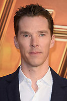"Benedict Cumberbach<br /> arriving for the ""Avengers: Infinity War"" fan event at the London Television Studios, London<br /> <br /> ©Ash Knotek  D3393  08/04/2018"