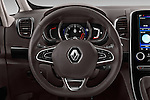 Car pictures of steering wheel view of a 2015 Renault Espace Intens 5 Door Minivan Steering Wheel