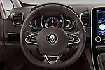 Car pictures of steering wheel view of a 2015 Renault Espace Intens 5 Door Minivan Steering Wheel