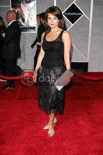 "Jacqueline Obradors<br /> At the premiere of ""Flightplan"", El Capitan Theater, Hollywood, CA 09-19-05<br /> David Edwards/DailyCeleb.Com 818-249-4998"