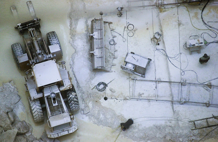 Mine de marbre