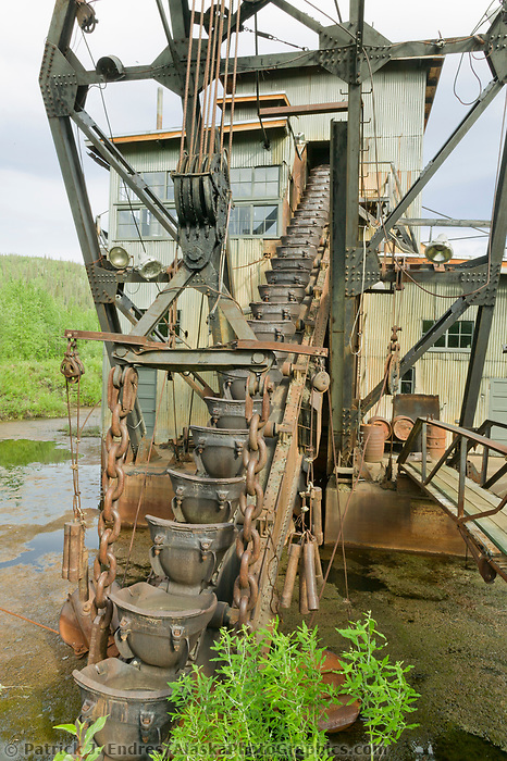 Coal Creek Dredge, along Coal Creek, Yukon River, Yukon Charley Rivers National Preserve, Alaska.