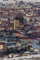 Europe/France/Franche-Comté/25/Doubs/Pontarlier: Vue générale depuis la Montagne du Larmont // France, Doubs, Pontarlier,General view from the Mountain Larmont