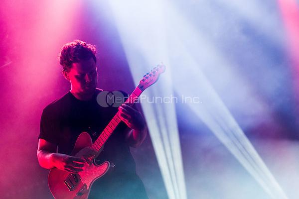 LAS VEGAS, NV - April 13: ***HOUSE COVERAGE***  alt-J performs at The Joint at Hard Rock Hotel & Casino in Las Vegas, NV on April 13, 2015. Credit: Erik Kabik Photography/MediaPunch