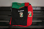 Glentoran 2 Cliftonville 1, 22/10/2016. The Oval, NIFL Premiership. Socks and shorts in the home dressing room at The Oval, Belfast, pictured before Glentoran hosted city-rivals Cliftonville in an NIFL Premiership match. Glentoran, formed in 1892, have been based at The Oval since their formation and are historically one of Northern Ireland's 'big two' football clubs. They had an unprecendentally bad start to the 2016-17 league campaign, but came from behind to win this fixture 2-1, watched by a crowd of 1872. Photo by Colin McPherson.