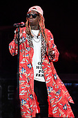 WEST PALM BEACH, FL - JULY 25: Lil Wayne performs at The Coral Sky Amphitheatre on July 25, 2019 in West Palm Beach Florida. Credit Larry Marano © 2019
