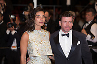 Taylor Sheridan, Nicole Sheridan at the The Square premiere for at the 70th Festival de Cannes.<br /> May 20, 2017  Cannes, France<br /> Picture: Kristina Afanasyeva / Featureflash
