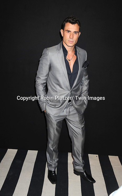 Troy Curtiss attending the Kim Kardashian and husband Kris Humphries Welcome to New York Party on August 31, 2011 at Capitale in New York City.