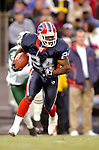 16 October 2005: Terrence McGee, cornerback for the Buffalo Bills, rushes for yardage during a kickoff return against the New York Jets on October 16, 2005 at Ralph Wilson Stadium, in Orchard Park, NY. The Bills defeated the division rival Jets 27-17. ..Mandatory Photo Credit: Ed Wolfstein