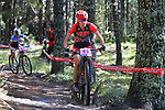 05.09.2015 La Massana Andorra. 201 UCI Mountain Bike World Champions.Picture show Davison Lea (USA) in action during women ELite Cross-country Olympic World Champions