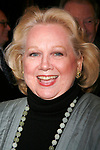 Barbara Cook arriving for the Opening Night Performance of INHERIT THE WIND at the Lyceum Theatre in New York City.<br />