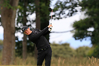 Marcus Kinhult (SWE) on the 1st during Round 4 of the Aberdeen Standard Investments Scottish Open 2019 at The Renaissance Club, North Berwick, Scotland on Sunday 14th July 2019.<br /> Picture:  Thos Caffrey / Golffile<br /> <br /> All photos usage must carry mandatory copyright credit (© Golffile | Thos Caffrey)