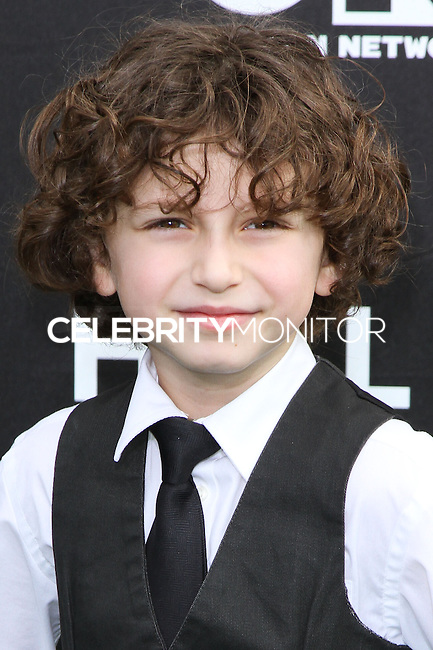 SANTA MONICA, CA, USA - FEBRUARY 15: Benjamin Stockham at the 4th Annual Cartoon Network Hall Of Game Awards held at Barker Hangar on February 15, 2014 in Santa Monica, California, United States. (Photo by David Acosta/Celebrity Monitor)