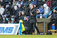 Uwe Rosler (Manager) of Fleetwood Town during the Sky Bet League 1 match between Gillingham and Fleetwood Town at the MEMS Priestfield Stadium, Gillingham, England on 27 January 2018. Photo by David Horn.