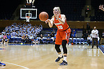 10 February 2017: Syracuse's Isabella Slim (NED). The Duke University Blue Devils hosted the Syracuse University Orange at Cameron Indoor Stadium in Durham, North Carolina in a 2016-17 Division I Women's Basketball game. Duke won the game 72-55.