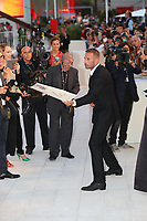 Matthias Schoenaerts walks the red carpet ahead of the 'Racer And The Jailbird (Le Fidele)' screening during the 74th Venice Film Festival at Sala Grande on September 8, 2017 in Venice, Italy.<br /> CAP/GOL<br /> &copy;GOL/Capital Pictures