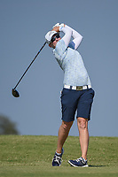 Alena Sharp (CAN) watches her tee shot on 2 during the round 3 of the Volunteers of America Texas Classic, the Old American Golf Club, The Colony, Texas, USA. 10/5/2019.<br /> Picture: Golffile   Ken Murray<br /> <br /> <br /> All photo usage must carry mandatory copyright credit (© Golffile   Ken Murray)