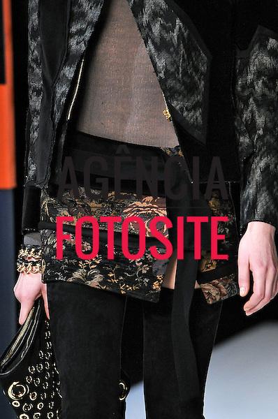 Milao, Italia &ndash; 02/2014 - Desfile de Just Cavalli durante a Semana de moda de Milao - Inverno 2014. <br /> Foto: FOTOSITE