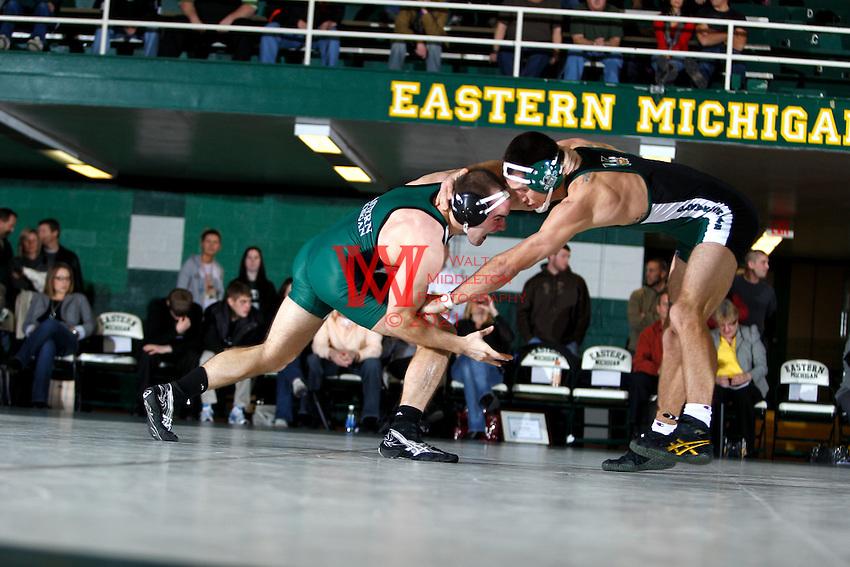 Eastern Michigan University vs. Cleveland State University Wrestling. Friday December 3rd, 2010