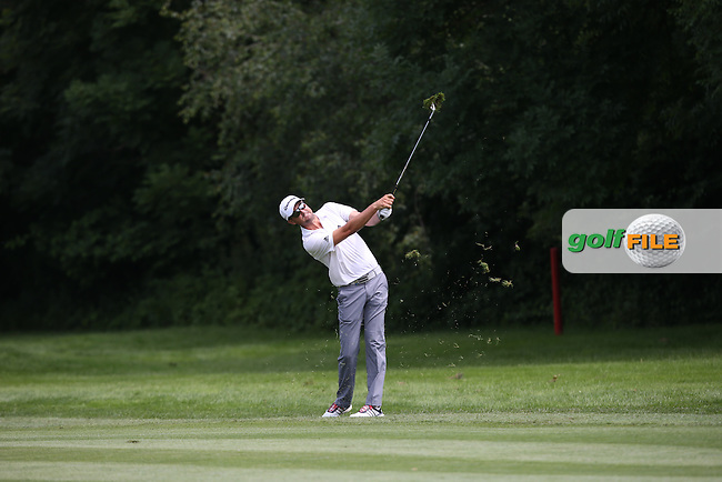 Jake Roos (RSA) plays from  the left side of the fairway on 13 during Round Two of the 2015 BMW International Open at Golfclub Munchen Eichenried, Eichenried, Munich, Germany. 26/06/2015. Picture David Lloyd | www.golffile.ie