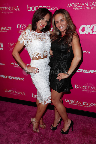 New York, NY - September 10 : Teresa Aprea (L) and Nicole Napolitano attend OK! Magazine's 8th Annual NY Fashion Week Celebration Hosted by Nicky Hilton held at the VIP Room in New York City on September 10, 2014 (Photo by Brent N. Clarke / MediaPunch)