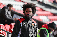 Fitness Coach Youl Mawene of Fleetwood Town during the Sky Bet League 1 match between Fleetwood Town and MK Dons at Highbury Stadium, Fleetwood, England on 24 February 2018. Photo by David Horn / PRiME Media Images