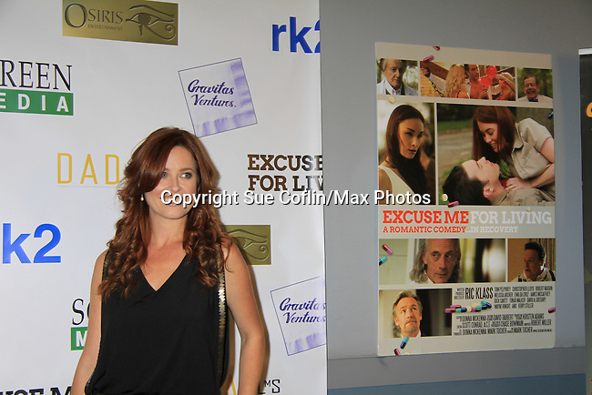 "One Life To Live Melissa Archerl stars in the film and at the premiere of ""Excuse Me For Living"" on October 12, 2012 at AMC Loews Village 7, New York City, New York.  (Photo by Sue Coflin/Max Photos)"