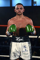 Louis Lye (white shorts) defeats Harry Matthews at the Woodside Leisure Centre on 9th March 2019