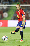 Spain's Andres Iniesta during the up match between Spain and Georgia before the Uefa Euro 2016.  Jun 07,2016. (ALTERPHOTOS/Rodrigo Jimenez)