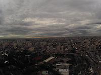 SAO PAULO, SP, 11 DE MARCO 2013, CLIMA TEMPO. São Paulo amanheceu nessa segunda-Feira (11) com céu nublado, foto aerea feita na região da Mooca regiao leste de Sao Paulo FOTO: LUIZ GUARNIERI/ BRAZIL PHOTO PRESS.
