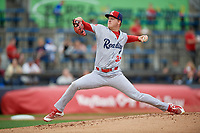 Reading Fightin Phils pitcher Bailey Falter (33) during an Eastern League game against the Akron RubberDucks on June 4, 2019 at Canal Park in Akron, Ohio.  Akron defeated Reading 8-5.  (Mike Janes/Four Seam Images)