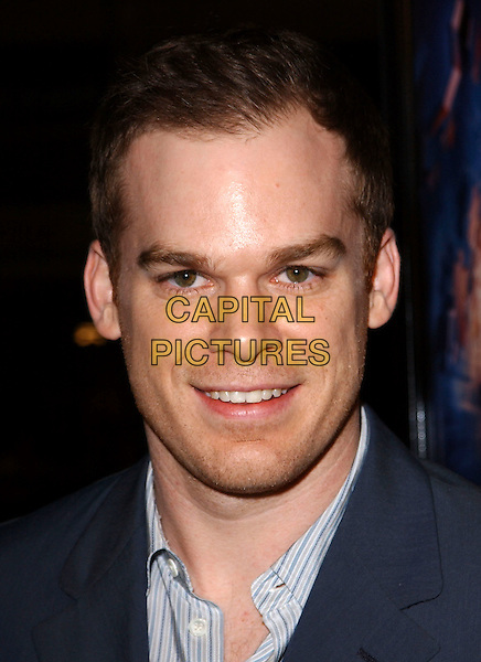 MICHAEL C. HALL.L.A. Premiere of Paycheck held at The Graumann's Chinese Theatre in Hollywood .18 December 2003 .*UK Sales Only*.headshot, portrait, stubble                                             .www.capitalpictures.com.sales@capitalpictures.com.©Capital Pictures.