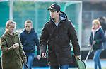TILBURG  - hockey-  coach Mark Dekker (WereDi)   tijdens de wedstrijd Were Di-MOP (1-1) in de promotieklasse hockey dames. COPYRIGHT KOEN SUYK