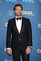 LOS ANGELES - FEB 2:  Bradley Cooper at the 2019 Directors Guild of America Awards at the Dolby Ballroom on February 2, 2019 in Los Angeles, CA