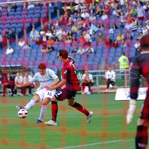 14.05.2011 Seria A Tim - stadio olimpico in Rome, Italy - Lazio versus Genoa 4-2. Zarate in Action