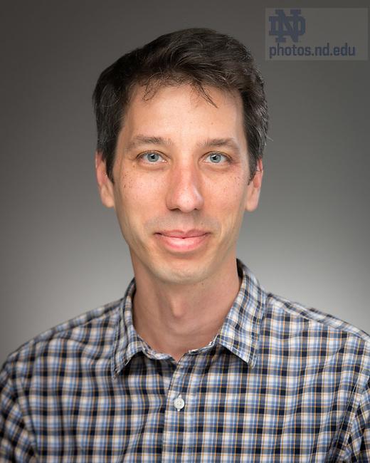 May 11, 2017; Gabor Szekelyhidi, Professor of Mathematics, University of Notre Dame (Photo by Matt Cashore/University of Notre Dame)